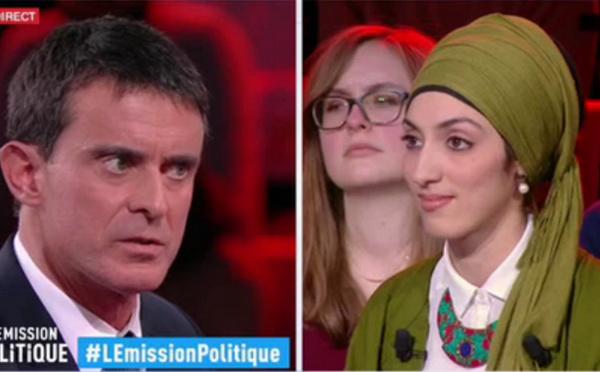La laïcité, la liberté et le voile : le débat entre Valls et une féministe musulmane (vidéo)