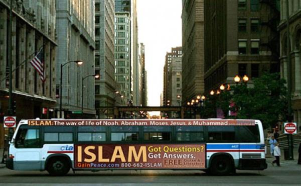L'islam s'affiche aussi sur les bus de Chicago