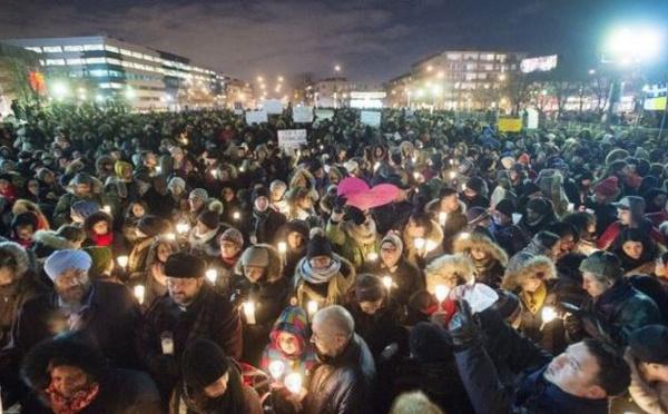 Au Canada, l'unité dans la douleur en hommage aux victimes de Québec