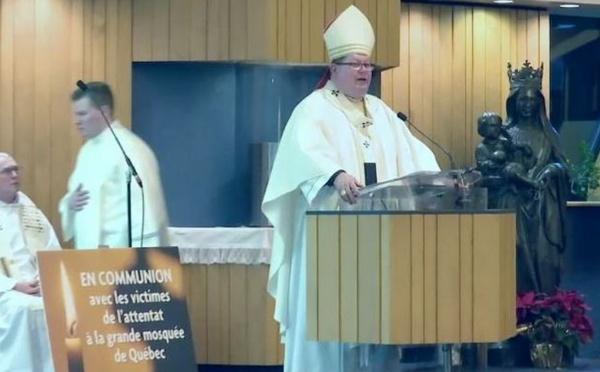 Québec : une vibrante messe en hommage aux victimes de l'attentat à la mosquée