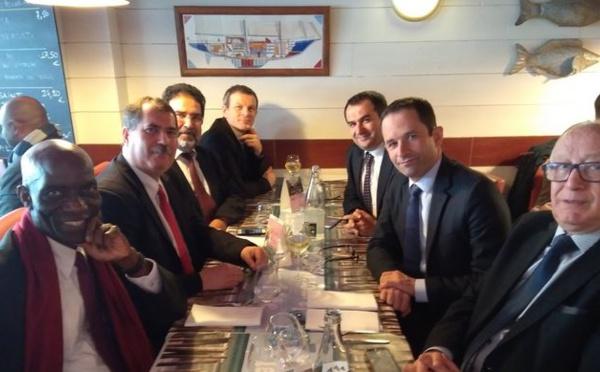 Présidentielle 2017 : Benoît Hamon à la rencontre du CFCM