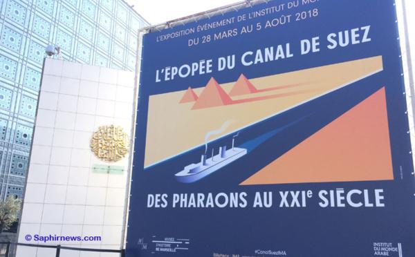 « L'épopée du canal de Suez », l'expo-fleuve de l'Institut du monde arabe