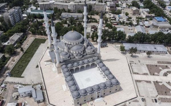 La plus grande mosquée d'Asie centrale, financée par la Turquie, inaugurée au Kirghizistan