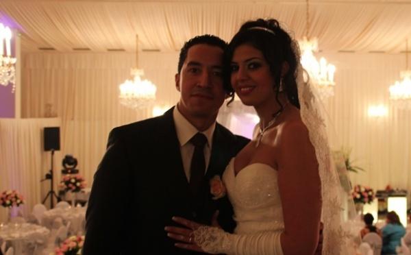 Mariage grandiose à mi-chemin entre Orient et Occident