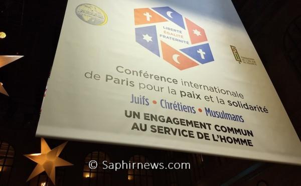 Après la conférence pour la paix, ce que proclame le mémorandum signé à Paris entre responsables juifs, chrétiens et musulmans