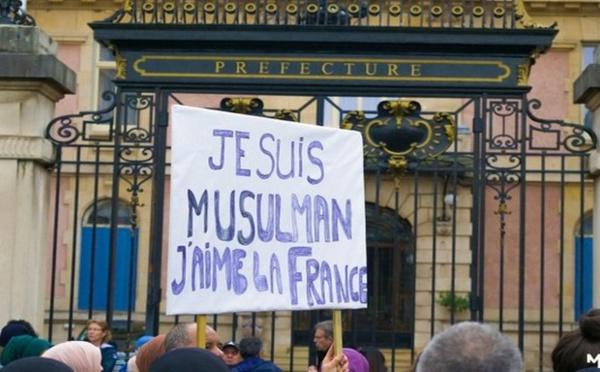 A Belfort, juifs et chrétiens aux côtés des musulmans contre l'islamophobie
