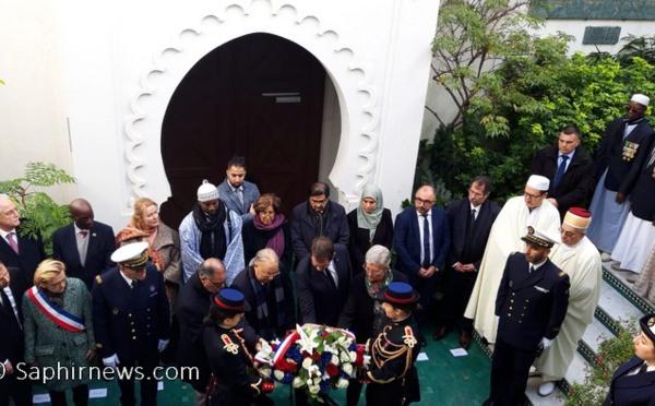 Christophe Castaner à la Mosquée de Paris : « La haine et les amalgames sont des insultes à la République »