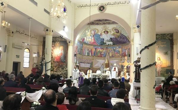 Les chrétiens de Gaza fêtent Noël malgré le blocus et les restrictions d'accès à Bethléem (vidéo)