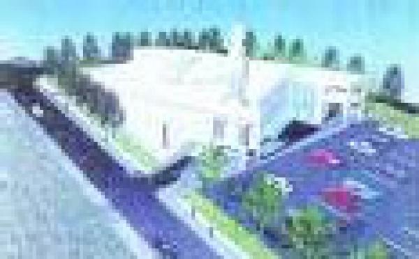 La première pierre de la mosquée de Créteil