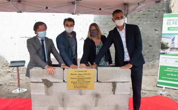 A Lyon, la première pierre d'une nouvelle mosquée à Gerland posée en grande pompe
