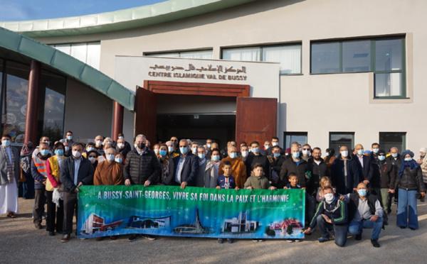 A Bussy-Saint-Georges, un hommage interreligieux à l'initiative des musulmans rendu à Samuel Paty
