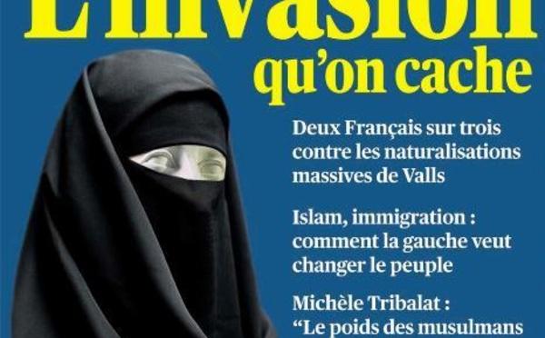 L'islamophobie et la xénophobie en Une de Valeurs actuelles
