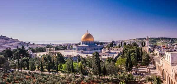 Jérusalem vue du ciel