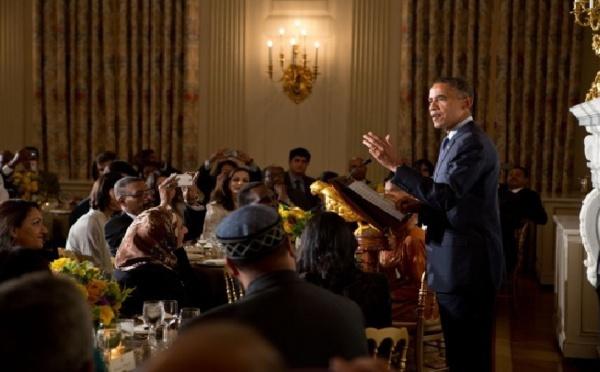 Iftar à la Maison Blanche : Obama se fait l'avocat d'Israël face aux musulmans