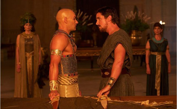 Exodus : Moïse et Pharaon en 3D et en testostérone