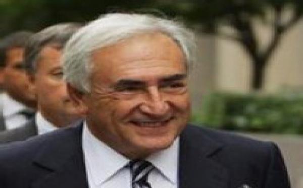 Dominique Strauss-Kahn à la tête du FMI