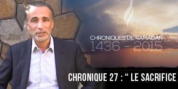Le sacrifice [Chronique 27]