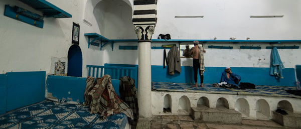 Une exposition pour sauver les hammams de Tunis