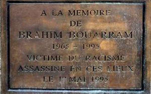 Hommage à Brahim Bouarram