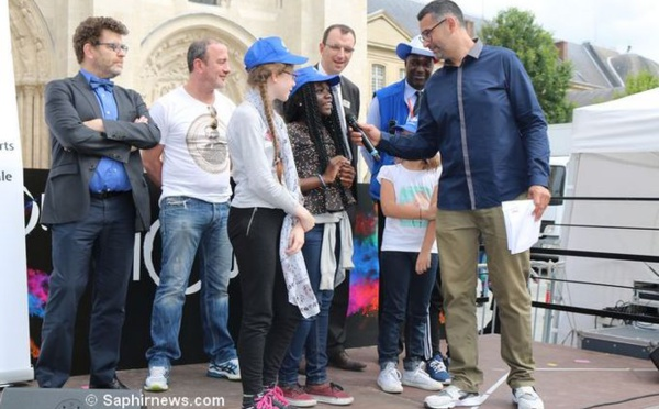 « Semer pour l'avenir » avec l'Eurodictée à Saint-Denis