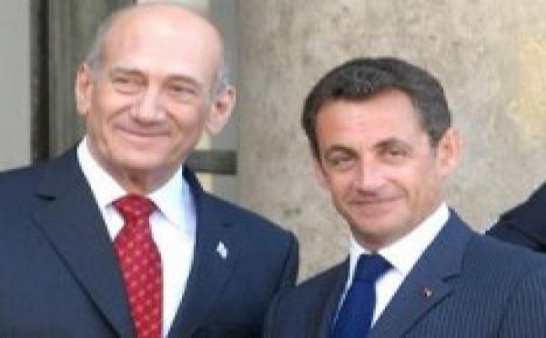 Nicolas Sarkozy demande aux Israéliens de 'prendre des risques pour la paix'