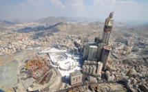 La Makkah Royal Clock Tower, quatrième plus haute tour du monde, avait été construite par le géant du BTP Binladen, aujourd'hui mis à l'amende et exclu des appels d'offres du marché public saoudien à la suite de l'effondrement d'une grue, à La Mecque, en septembre 2015.