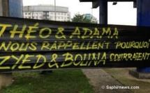Bobigny : « Théo et Adama nous rappellent pourquoi Zyed et Bouna courraient »