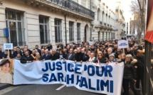 Des rassemblements ont été organisés, dimanche 5 janvier, en France, ici à Marseille, pour réclamer justice pour Sarah Halimi, une retraitée juive tuée en 2017 par son voisin.