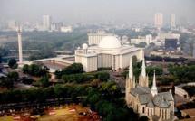 Un tunnel de l'amitié interreligieuse reliant la grande mosquée Istiqlal et la cathédrale Sainte-Marie de l'Assomption, en plein centre de Jakarta, est en cours de construction.