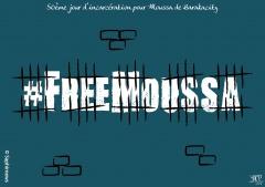 50e jour pour Moussa