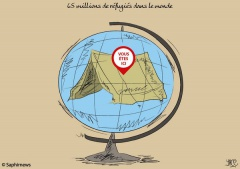 Record de réfugiés dans le monde en 2015