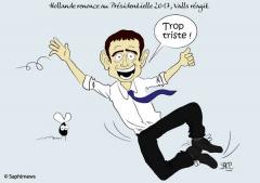 Hollande ne se présente pas