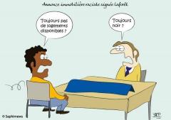 Annonce raciste de Laforêt
