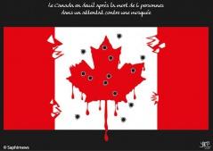 Canada, 6 morts dans un attentat dans une mosquée