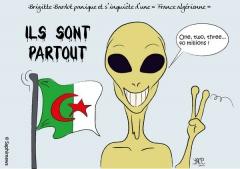 La France sous la menace de l'algérianisation selon Brigitte Bardot.