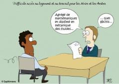Difficile accès au logement pour les Noirs et les Arabes en France